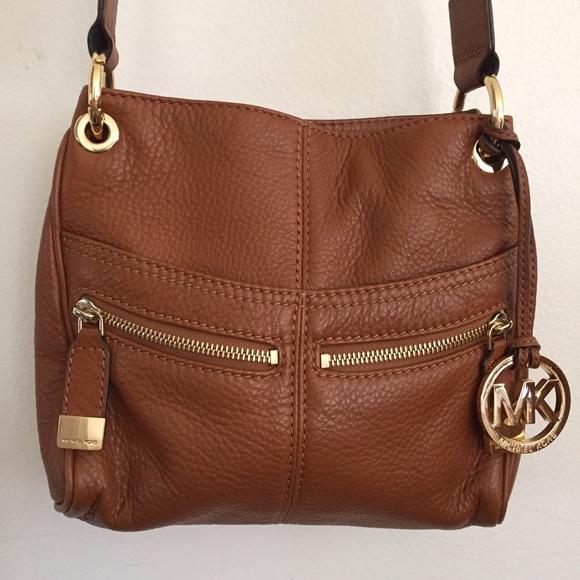d28f9b7a5f8034 MICHAEL Michael Kors Bags | Michael Kors Soft Leather Crossbody Bag ...