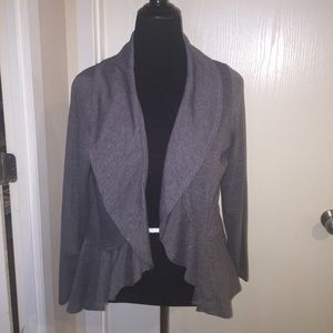 Sweaters - Lightweight lace back fly away cardigan