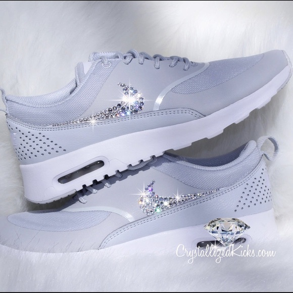 d8213eea25 Nike Shoes | Air Max Thea Made With Swarovski Crystals | Poshmark