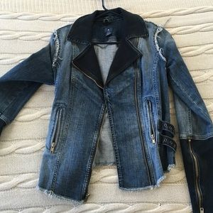 Guess jeans jacket xs