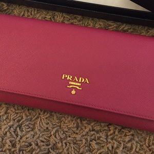 3493f5a8b7e8 Prada Bags | Sale Saffiano In Peonia Color Like New | Poshmark