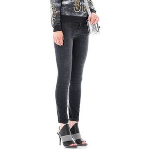 Current Elliott The Ankle Skinny in Washed Leopard