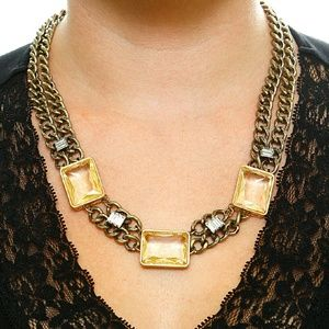 Glamorous Bib Statement Necklace by Romeo & Juliet