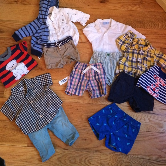 03031354a25 Old Navy Other   And Carters Baby Boy Clothes Lot 3 Months   Poshmark