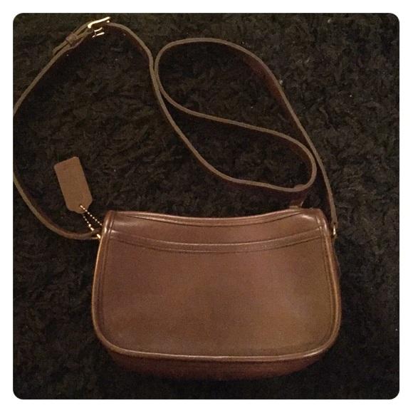 79d0989727e29 Coach Bags | Small Brown Leather Purse | Poshmark
