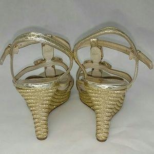 fd72b1fba262e MICHAEL Michael Kors Shoes - Michael Kors Jayden Jeweled Wedge Sandal