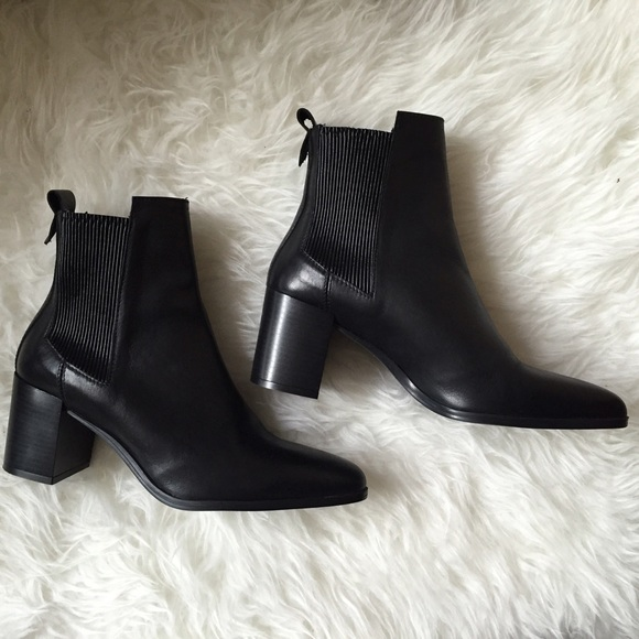 Zara Ankle Heeled Chelsea Boots