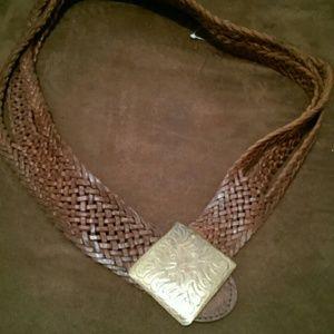 Accessories - Motif 56 genuine leather boho belt