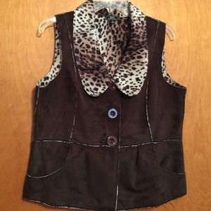 Lisa International Jackets & Blazers - double side vest