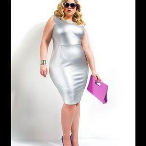 Monif C. Dresses & Skirts - Silver Monifc dress