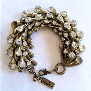 Anthropologie Jewelry - Beautiful bracelet(one stone missing)