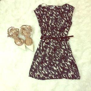 {H&M} Black & White Dress