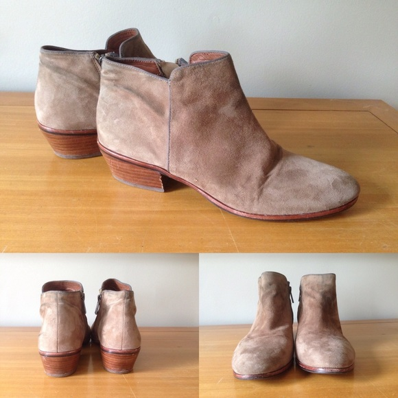 015cdd3c6ad1e Sam Edelman Petty Boots in Putty. M 56d89504bcd4a7ffa900acae