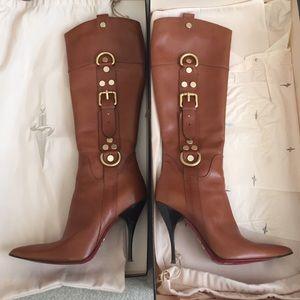Cesare Paciotti Shoes - Cesare Paciotti leather heeled boots