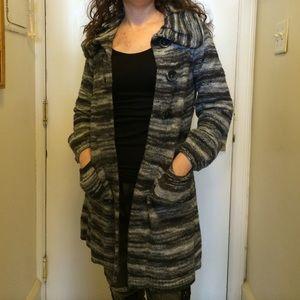 CLOSING SALE Designer Swing Cardigan Sweater