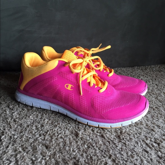 65435d488bb Champion Shoes - Pink and Orange running shoes