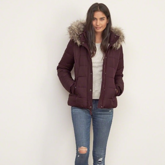 64bfccc59953e Abercrombie & Fitch Jackets & Coats   Af Premium Puffer Jacket ...
