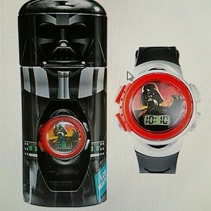 Darth Vader Star Wars watch & bank New