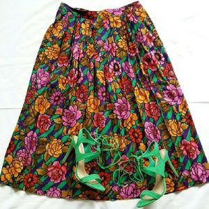 🚫SOLD Vintage Midi Skirt