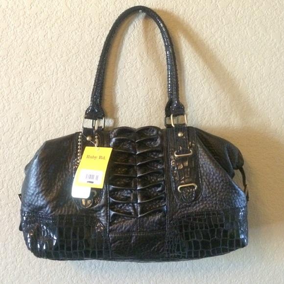 78% off ruby Red Handbags - BRAND NEW black hand bag • purse ...