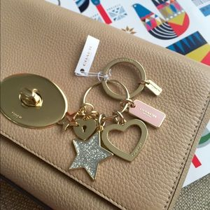 Coach Glam key chains