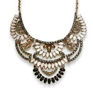 Designer Bib Statement Necklace by Romeo & Juliet