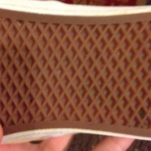 8197751dcef Vans Shoes - Pastel yellow vans with brown laces