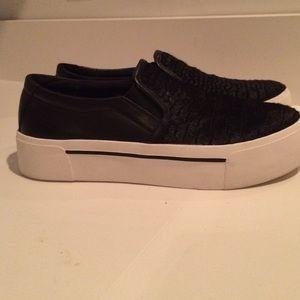 aae75ed4c7b DKNY Shoes - DKNY slip on platform sneakers