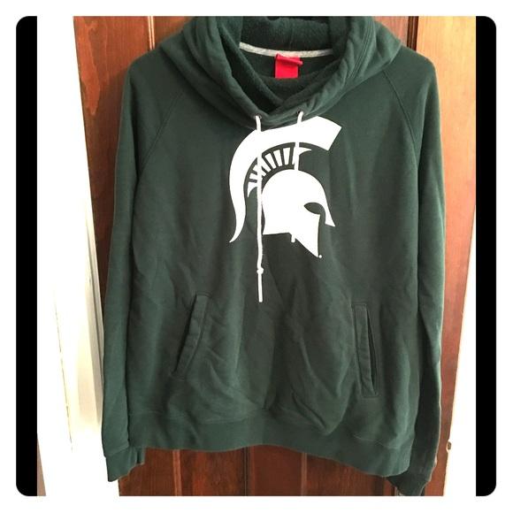 Nike Jackets Coats Michigan State Hoodie Poshmark