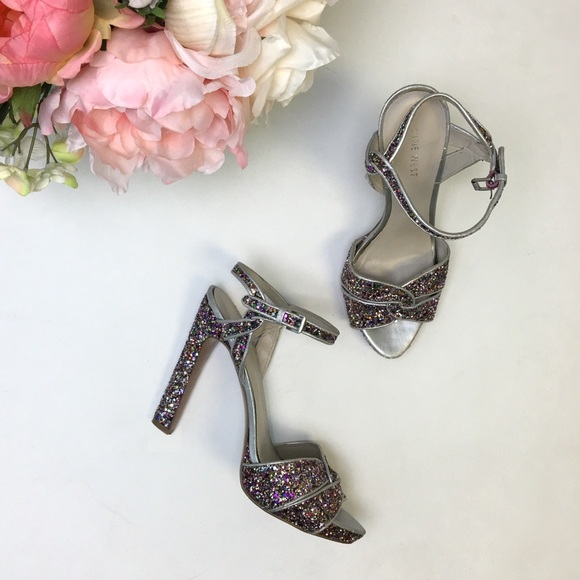 Nine West Shoes - 🔻Multicolored Glitter Sandals