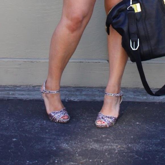 Nine West Shoes - Multicolored Glitter Sandals