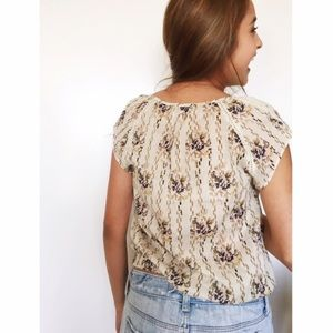 NWT Urban Outfitters floral boho top