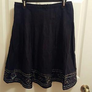 I.C.E Skirts - I.C.E Sequin  black Skirt. Clear out closet Bundle