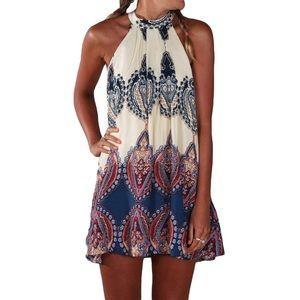Halter top dress 006