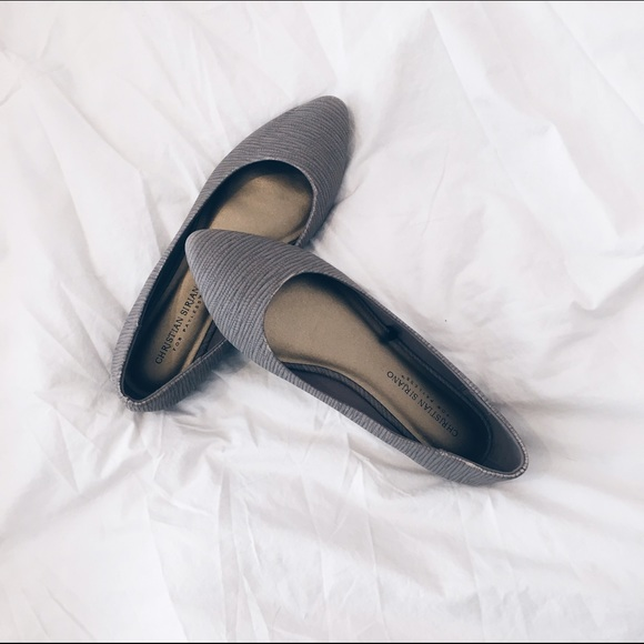 6e8b61e56573 Christian Siriano Shoes -  christian siriano  •  gigi point flat in taupe