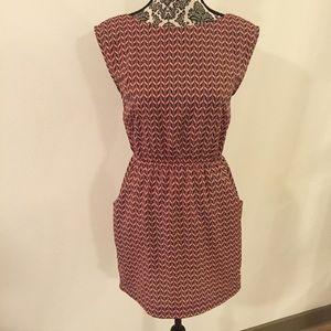 Peppermint Open Back Dress