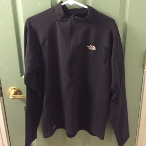 The North Face sz M Half Zip Pull Over