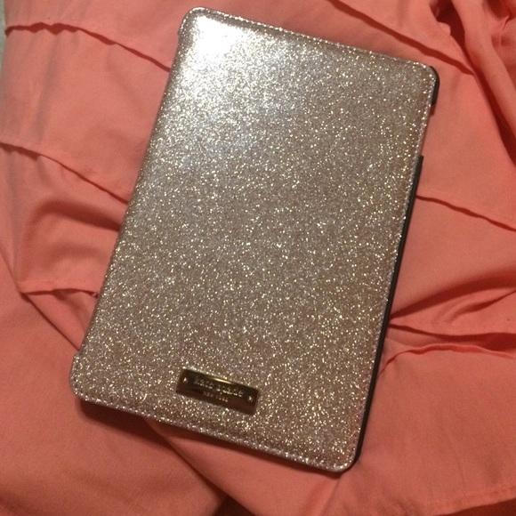 low priced 9096f 936bf Kate spade Ipad Mini 4 case rose gold