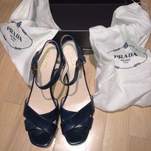 host pickPrada Milano sandals great condition