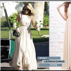 Crown Paper by Lauren Conrad-Tori Gown in blush