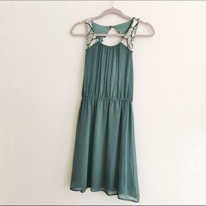 Brand New Beaded Chiffon Dress