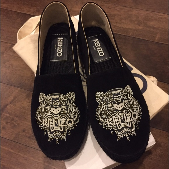 Kenzo Embroidered Tiger loafers QczriQR