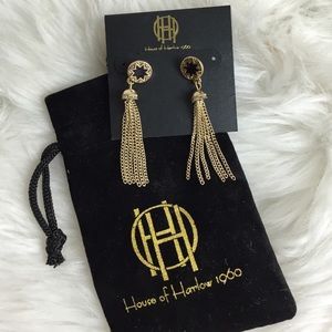 House of Harlow 1960 Jewelry - House of Harlow 1960 Sunburst Dangle Earrings