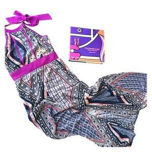 Dresses & Skirts - Tribal Maxi Halter Dress - Size Small