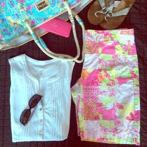 Lilly Pulitzer Pants - Lilly Pulitzer Resort Shorts! Size 8