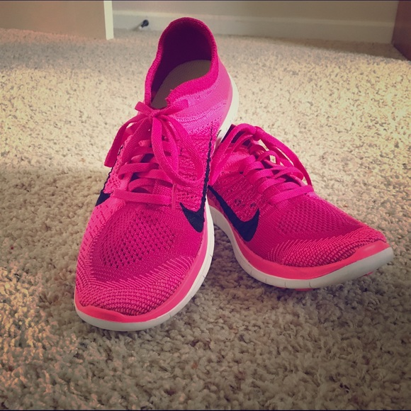 3d09f334a34ea Nike Shoes | Womens Free 40 Flyknit In Pink Size 8 | Poshmark