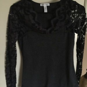Ambiance apparel Tops - NEW item!! Cute lace top... Size small...