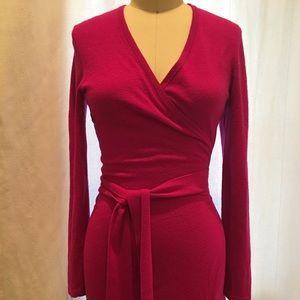 DVF Cashmere Wrap Dress