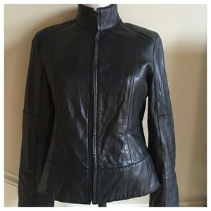 Marc New York Andrew Marc leather jacket size S