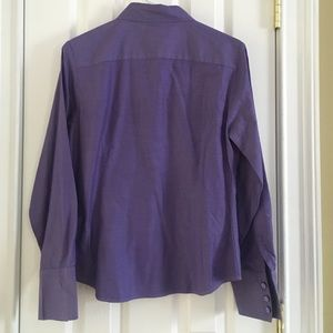 Grayson & Dunn Tops - Perfect Purple Work Button Down